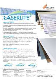 Laserlite Polycarbonate Roofing Installation 12 300 About Roof