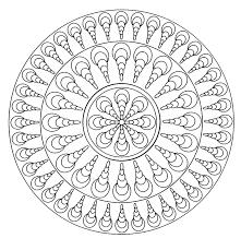 S Coloriage De Mandala Facilell L