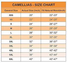 Camellias Waist Trainer Size Guide Waist Trainer Corset