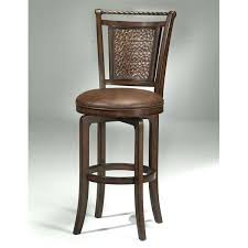 brown bar stool by stools leather uk