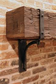 iron mantel brackets. Modren Iron Like Forged Iron Bracket For Cedar Fireplace Mantle With Iron Mantel Brackets A
