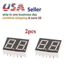 """<b>4 Pcs</b> Common Cathode 12 Pin 4 Bit <b>7 Segment 0.56</b>"""" Red LED ..."""