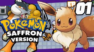 Pokemon Saffron GBA rom hack Part 1 - THE ANCIENT MEW! Gameplay Walkthrough  - YouTube
