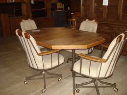 big dining chairs on casters