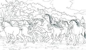 Coloring Pages Horses Printable Coloring Pages Horses Coloring