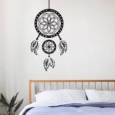 dream cather wall stickers home decoration accessories creative vinyl wall decals ancient indian painting on the wall best wall decals best wall stickers