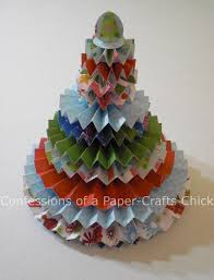 Paper Crafts For Christmas Confessions Of A Paper Crafts Chick Rosette Christmas Tree Won