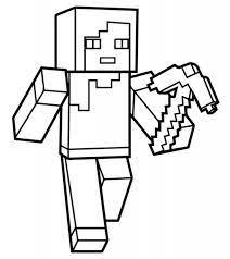 Bộ Sưu Tập Tranh Tô Màu Minecraft Đáng Yêu Cho Trẻ Em - Tranh Tô Màu cho bé