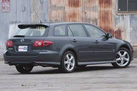 mazda 6 2004 black. 2004 mazda 6 s wagon exterior black a