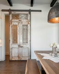 old world sliding barn doors