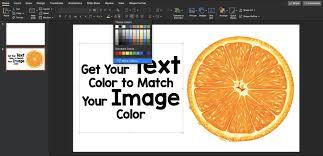 Slide Desigh Slide Design Tip How Does An Eyedropper Improve Slides