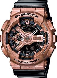 <b>Мужские</b> наручные <b>часы Casio GA</b>-<b>110GD</b>-<b>9B2</b> кварцевые