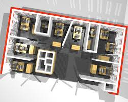 office layout. Office Layout N