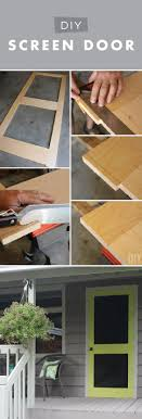 Homemade Screen Door Designs 24 Awesome Diy Screen Door Ideas To Build New Or Upcycle The Old