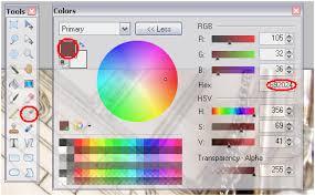 Paint.Net Color Window