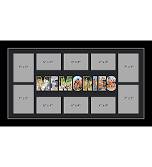 kwik picture framing ltd memories photo frame personalised name frames large multi memories word photo