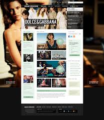 psd website design templates preview for deadstocker website template psd