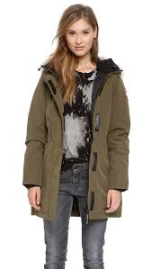 warm winter coat the military chic parka