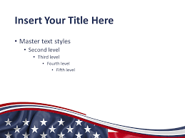 American Flag Powerpoint United States Flag Powerpoint Template Presentationgo