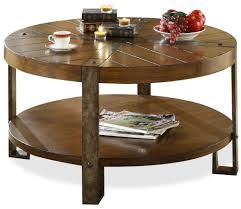 ... Rustic Round Coffee Tables ...
