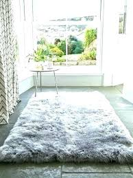 small white fur rug grey faux full size of rugs round fluffy small white fur rug