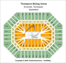 Thompson Boling Arena Concert Seating Chart Thompson Boling Arena Tickets And Thompson Boling Arena