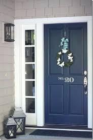 Open front door Boy Midnight Dawncheninfo Midnight Blue Door Door Ideas Medium Size Open Front Door House At