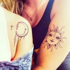 Best Friends Tetování Pro Bff