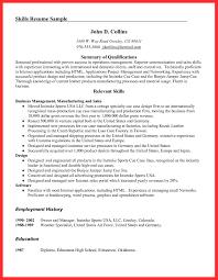 Resume Examples Pdf Good Resume Sample Resume Samples