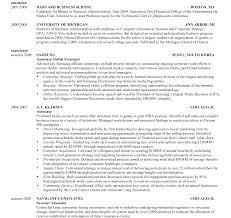 Hbs Resume Format Harvard Business School Template Doc Pdf Classy