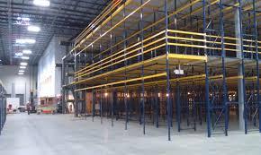 warehouse mezzanine modular office. 3 Level Rack Supported Mezzanine Warehouse Modular Office