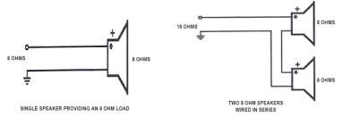 wiring speakers in parallel diagram gocn me Car Speaker Wiring Diagram series parallel speaker wiring hometoys in wiring speakers parallel