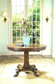 small foyer table round foyer table height traditional round entry table inspiring design for round foyer small foyer table