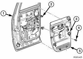 remove rear window motor dodge ram 2500 year 2005 56051931ab at 2005 Dodge Ram Rear Door Wiring Harness