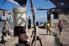 earthquake five year after com port au prince 28 2014the city keep on extending on the seaside