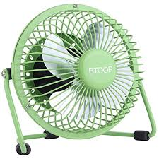 btoop usb desk fan mini personal fan large air flow metal design