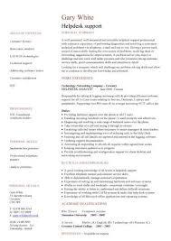 Sample Help Desk Support Resume Helpdesk Cv Sample Writing A Cv Resume Curriculum Vitae