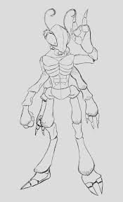 Concept Humanoid Ant By Hourai Victim