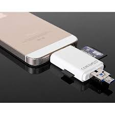 iflash usb sdhc micro sd otg memory card reader for android samsung iphone 5 6 6s 6s plus ipad multi in 1 memory card adapter in card readers from computer