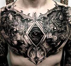 chest tattoo designs. Perfect Tattoo Best Chest Tattoos For Men 2 In Chest Tattoo Designs M