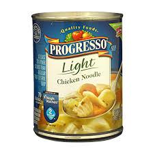 Progresso Light Chicken Noodle Soup Calories Progressive Light Soup Progresso Chicken Noodle Soup Light