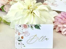 Place Card Holder Template Wedding Place Card Cards Template Excel Holder Ideas
