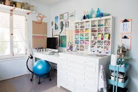 Charming Something Turquoise Blog Office And Craft Room