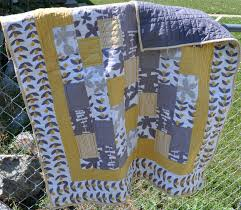 Richard and Tanya Quilts: Yellow and Gray Quilt & Yellow and Gray Quilt Adamdwight.com