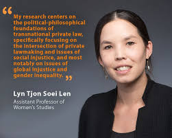 Unh Quote Custom Lyn Tjon Soei Len UNH Assistant Professor Of Women's Studies And