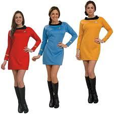 star trek dress uniform costume tos original series classic fancy dress