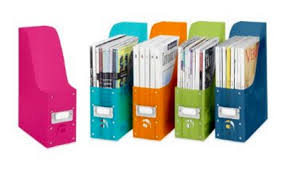 Cute Magazine Holders Fascinating Organize Your Kitchen With Magazine Holders Just 32532 Each