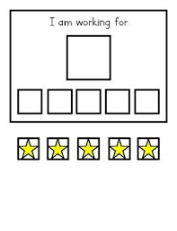 Simple Star Reward Chart Printable Reward Charts Autism