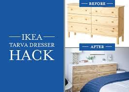 ikea bedroom furniture dressers. Ikea Tarva Dresser Hack Bedroom Furniture Dressers