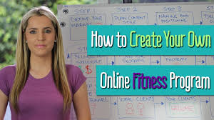 How To Create Your Own Online Fitness Program